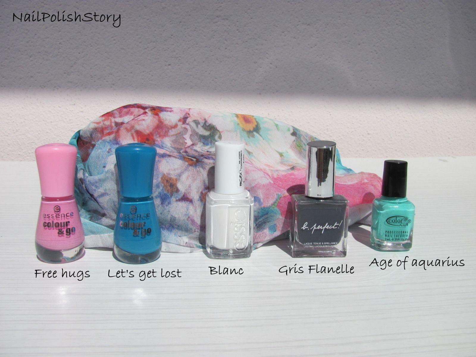 Nailstorming #8 Assortis tes ongles à tes habits!