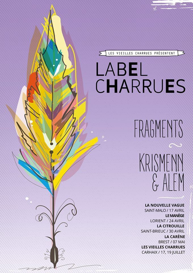 Label Charrues, l'affiche 2015
