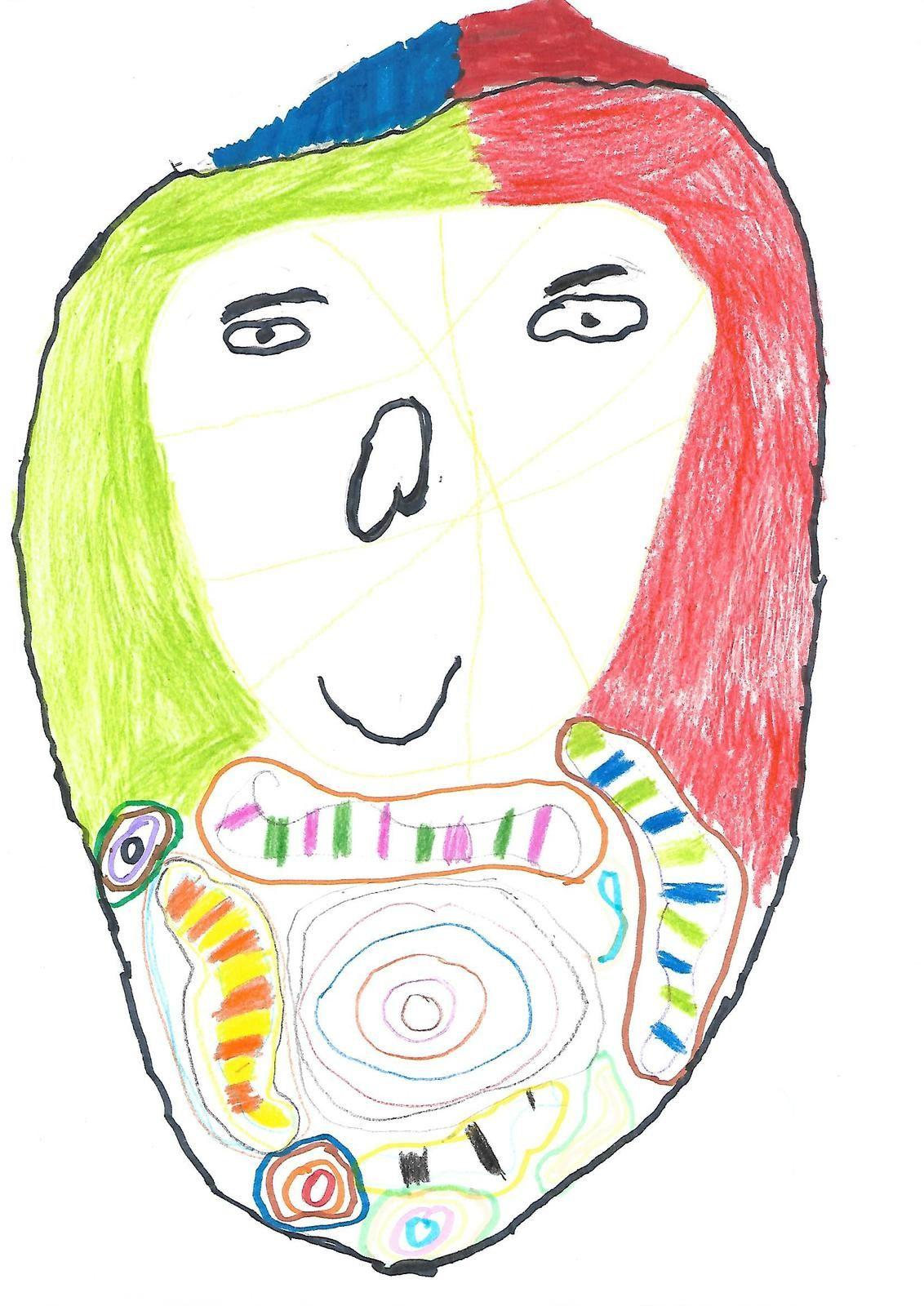 Portraits à la manière de Niki de Saint Phalle