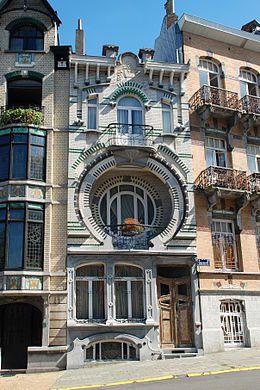 La maison Nilessen à Bruxelles
