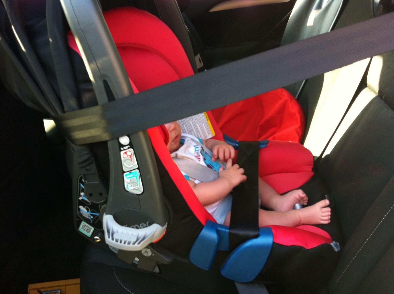 TUTO : Comment corriger /rétablir l'inclinaison d'un siège auto ?