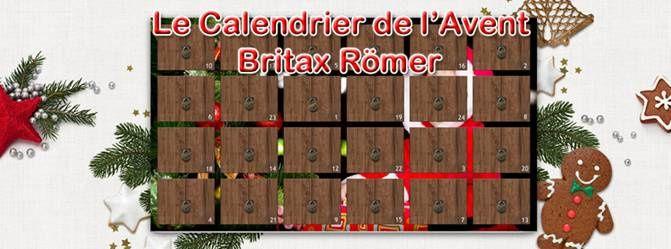 Le Calendrier de l'Avent Britax Römer est ouvert !