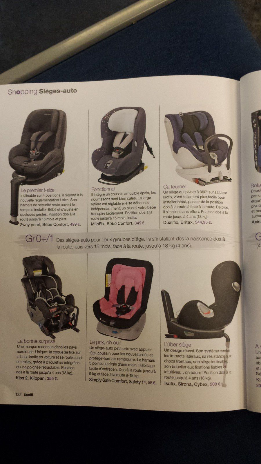 en voiture baby la s lection shopping si ges auto de famili quand un discours plus expert. Black Bedroom Furniture Sets. Home Design Ideas