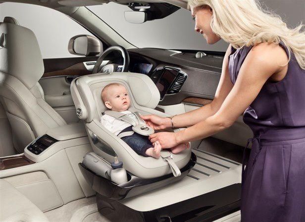 Nouveau concept de siège-auto VOLVO &quot&#x3B;Excellence Child Safety Seat Concept&quot&#x3B;