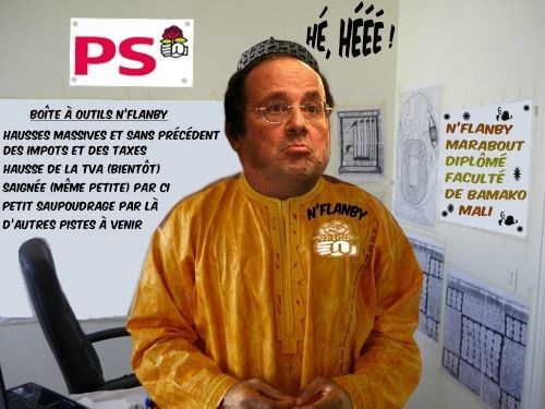 HOLLANDE MARABOUT