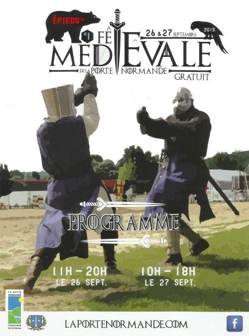 Préparons la fête médiévale du 26 &amp&#x3B; 27/09/2015 à Epieds