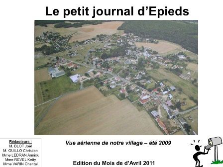 Le petit journal d'Epieds d'avril 2011 (n°07 new).