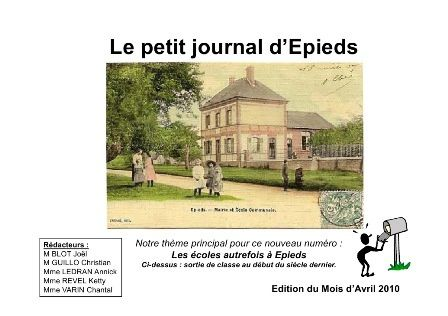 Le petit journal d'Epieds de mai 2010 (n°05 new).
