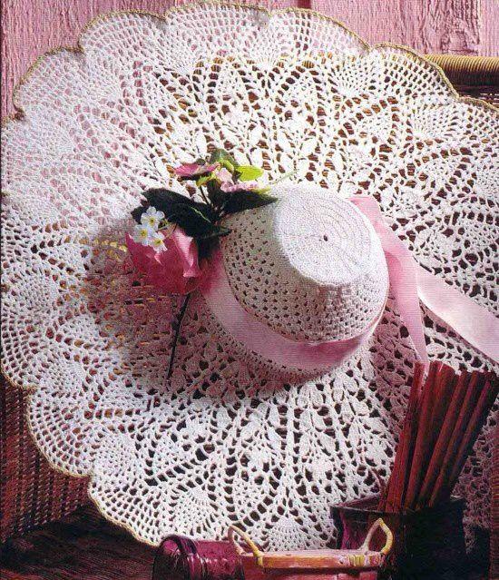 Chapeaux décoratifs et leurs grilles gratuites !