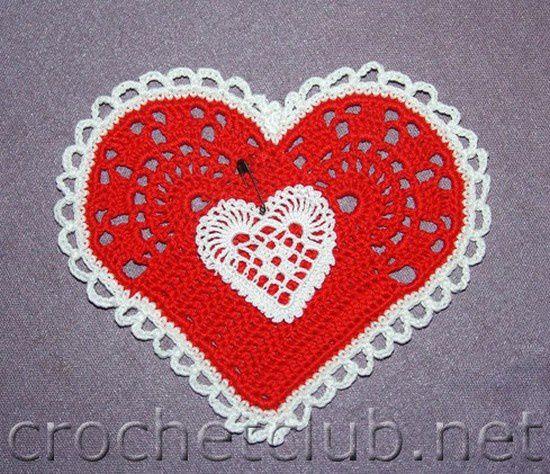 Coeurs colorés et leurs grilles gratuites !