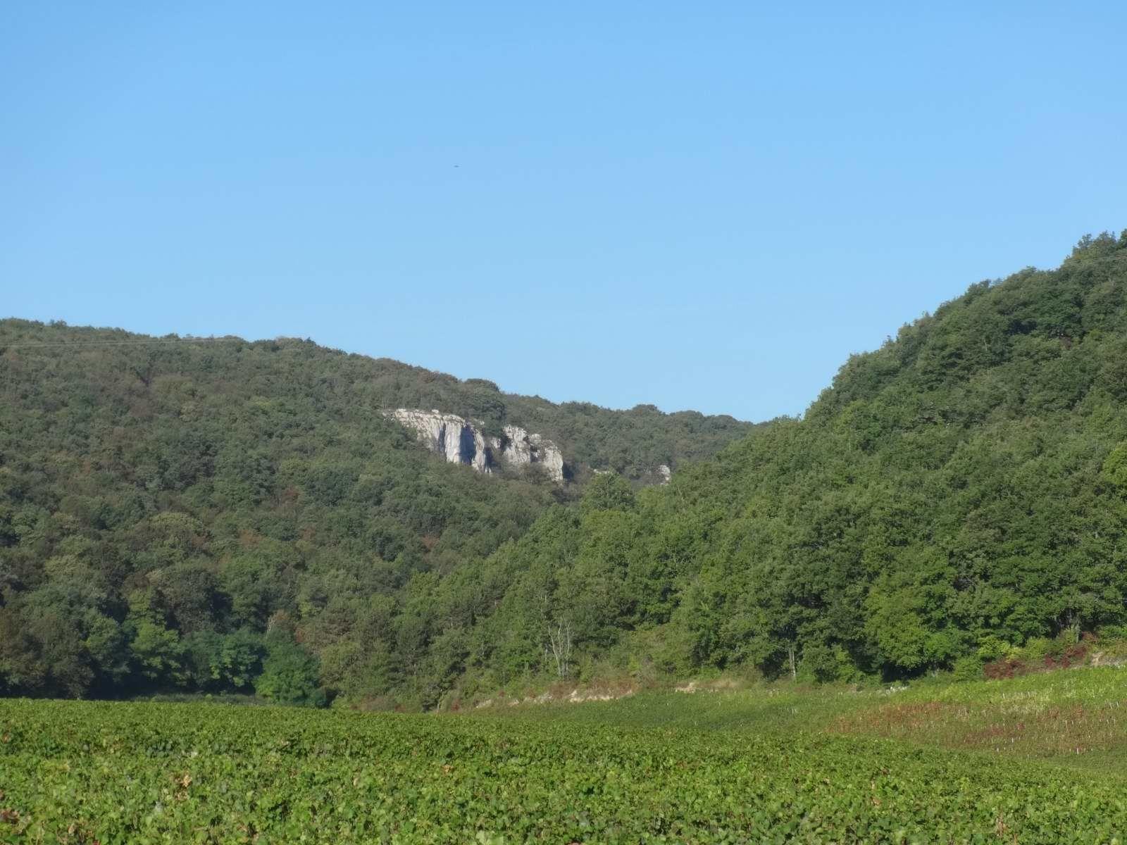 De Chambolle-Musigny au château d'Entre-deux-Monts (29/9/2016)