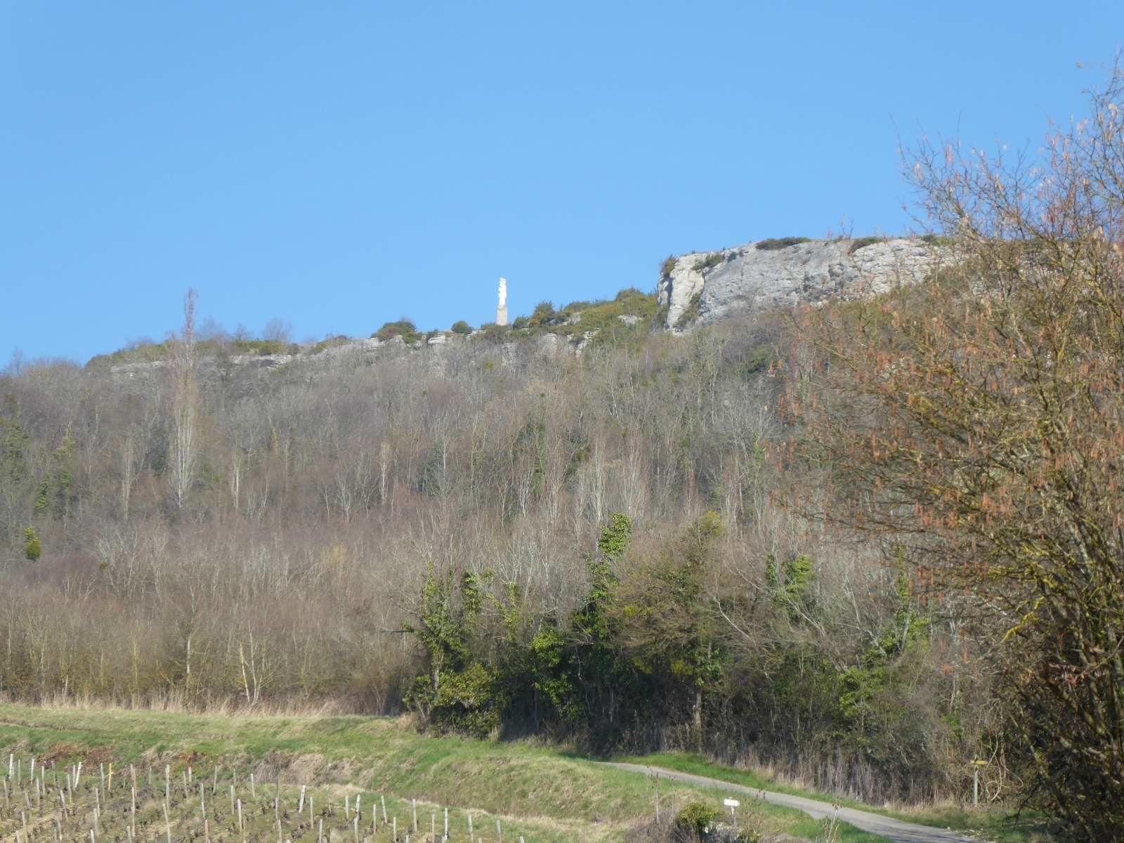 Le sentier des 3 Carnot à Nolay (16/3/2017)