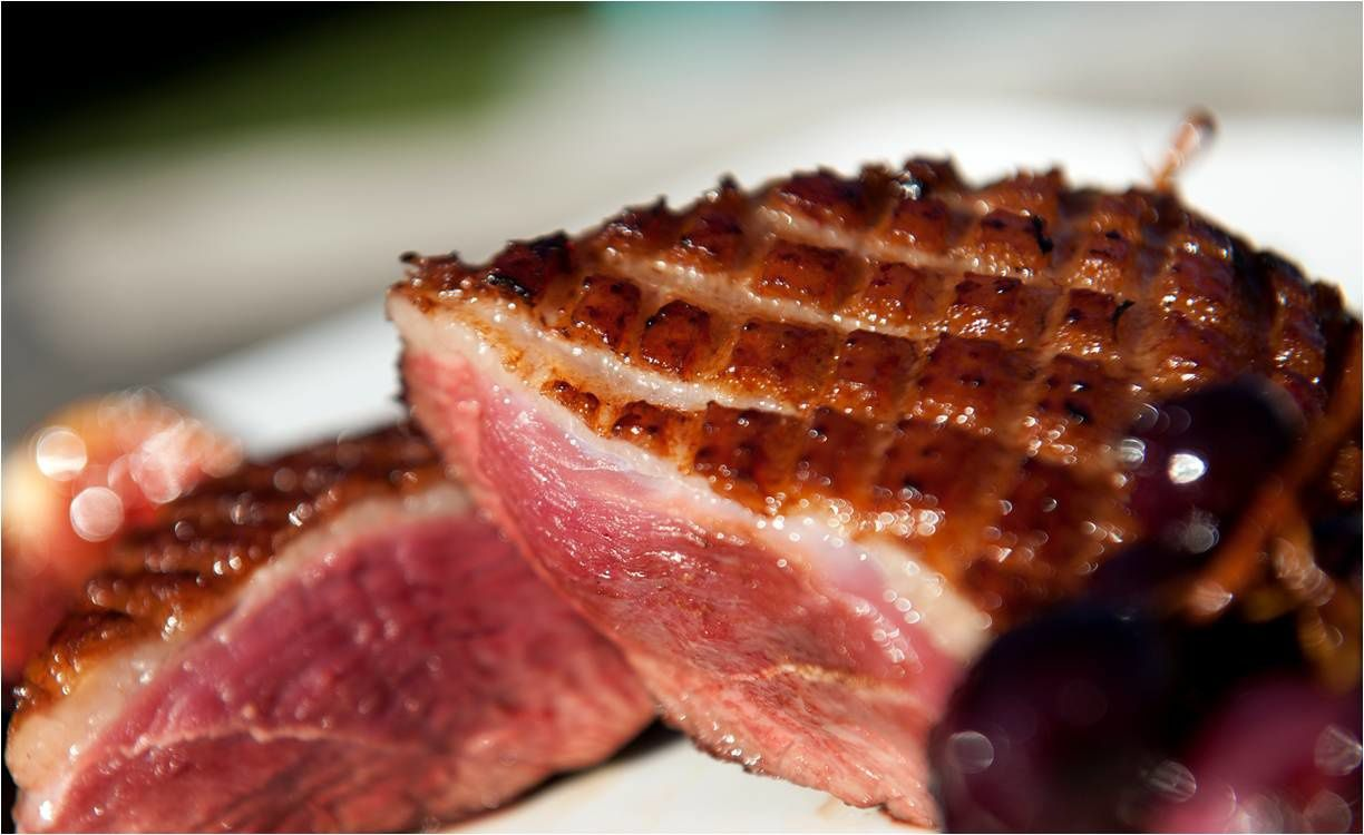 Magret de canard for Cuisson magret de canard barbecue