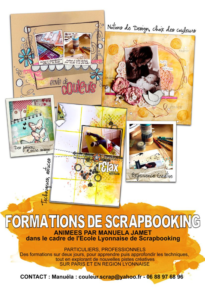 Une Formation Scrapbooking ?