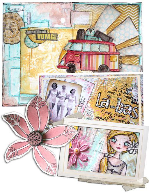 &quot&#x3B;Mon Art Journal en Vacances&quot&#x3B;... à nouveau disponible !
