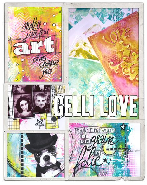 "Version Scrap... zoom sur l'atelier ""Gelli Plate"""