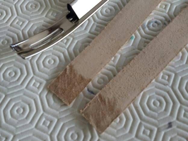 Trousse à outils en cuir