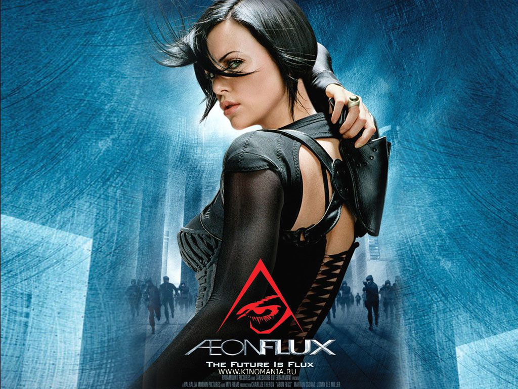 8 Models with Aeon flux movie images