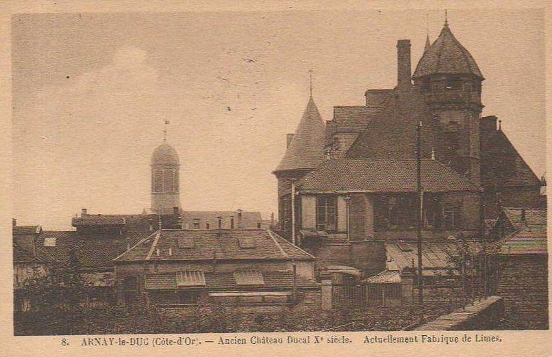 """Dix CPA """"Château de Bourgogne - Limerie"""" - Arnay-le-Duc."""
