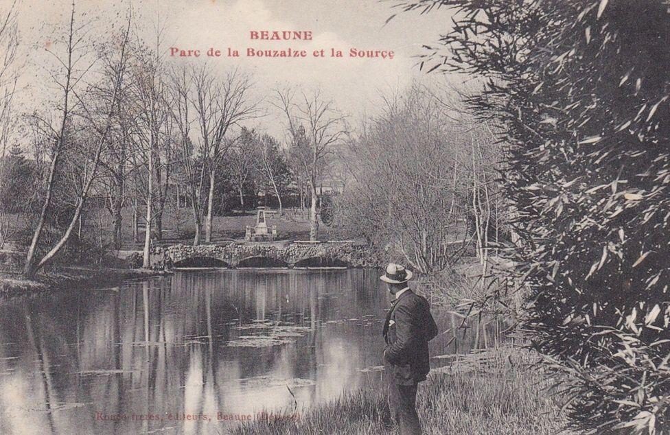 Beaune - Parc de la Bouzaize (suite et fin) - 12 CPA.
