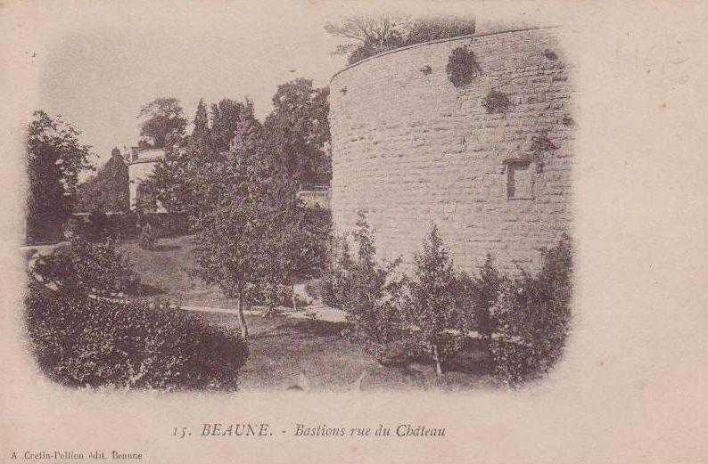 Rue du Château - Entrée de la ville - Beaune.
