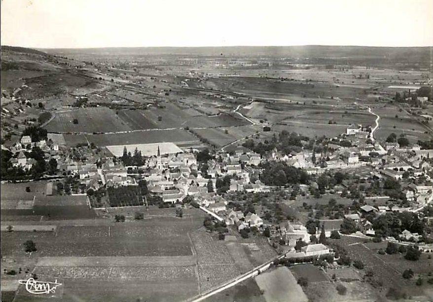 Santenay, cartes postale multivue et vue générale - Santenay.