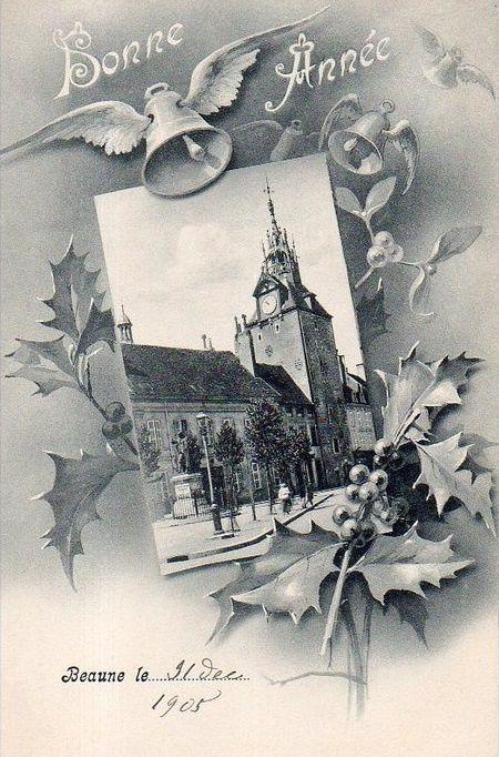 Beaune - Cartes postale diverses.