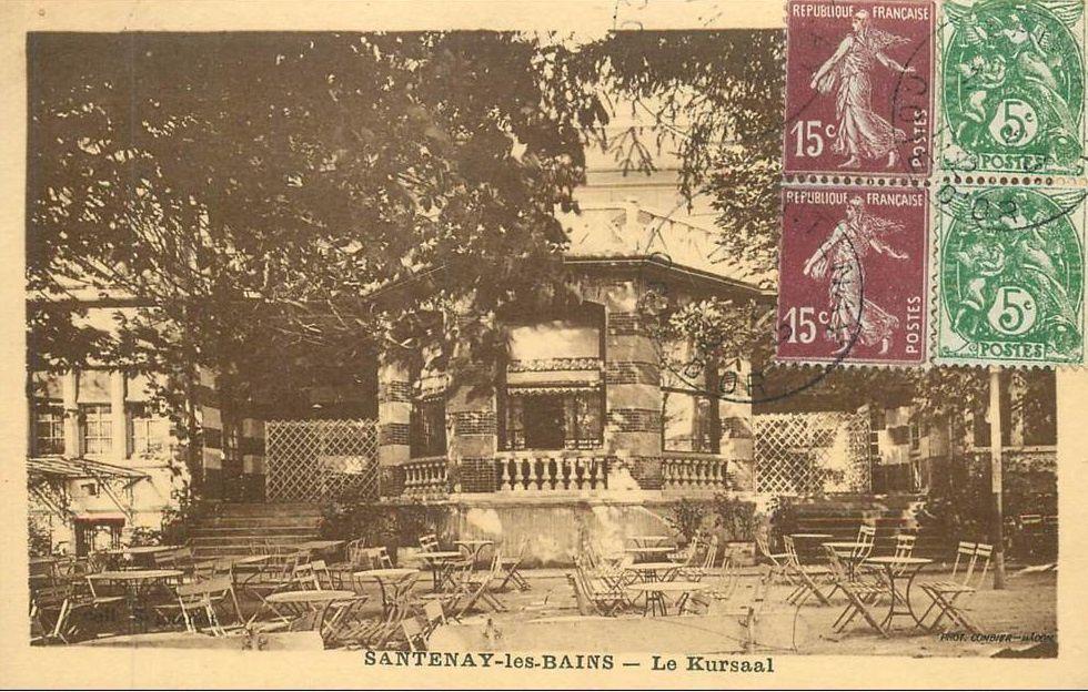 Santenay - Le Kursaal - Santenay.