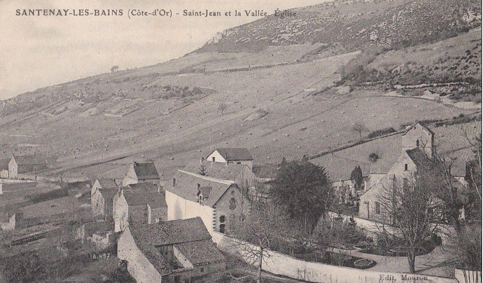 Santenay - Vues générale - Santenay.