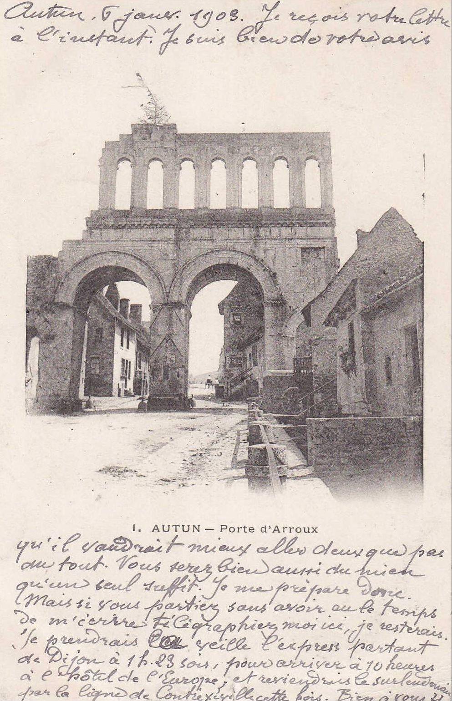 Porte d'Arroux - 71400 Autun