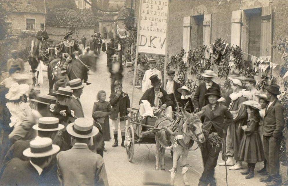 Santenay - Cavalcade du 04 juin 1906 - Santenay.