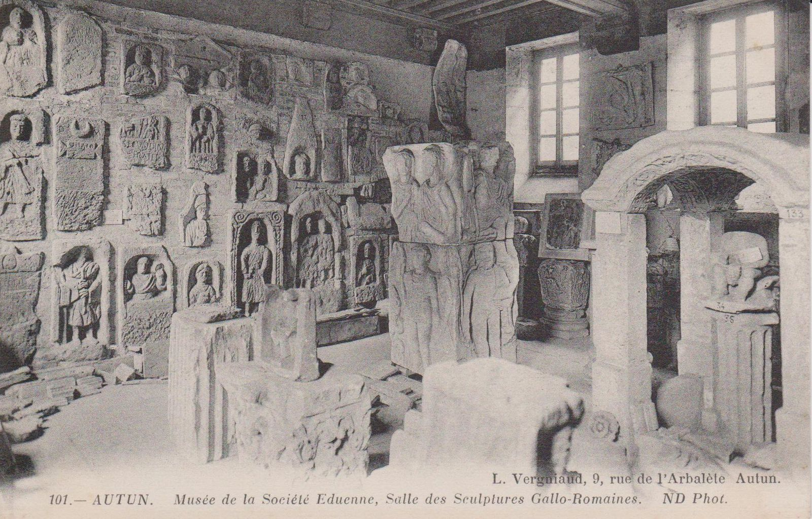 Musée Rolin, rue des Banc - 71400 Autun.
