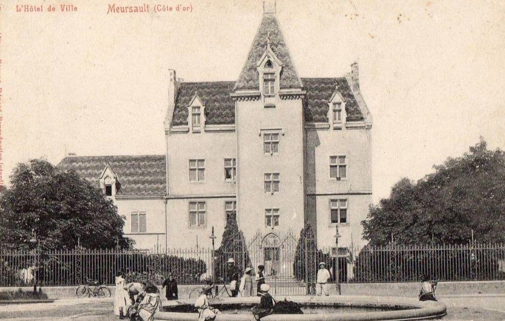 Meursault - Hôtel de Ville - Meursault