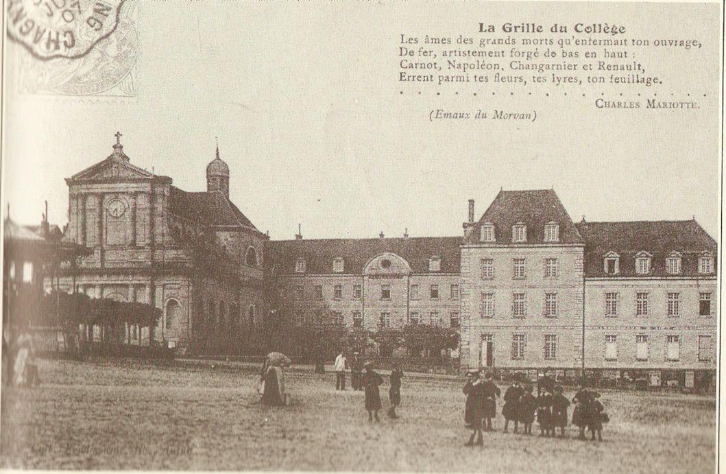 Lycée Bonaparte - Place du Champ de Mars - 71400 Autun.
