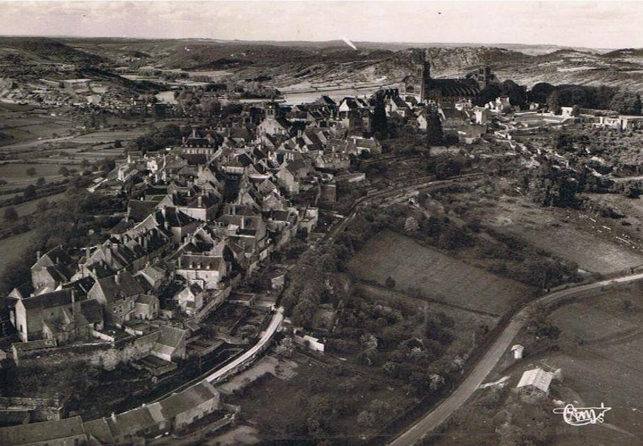 Vézelay - vue générale - Vézelay.