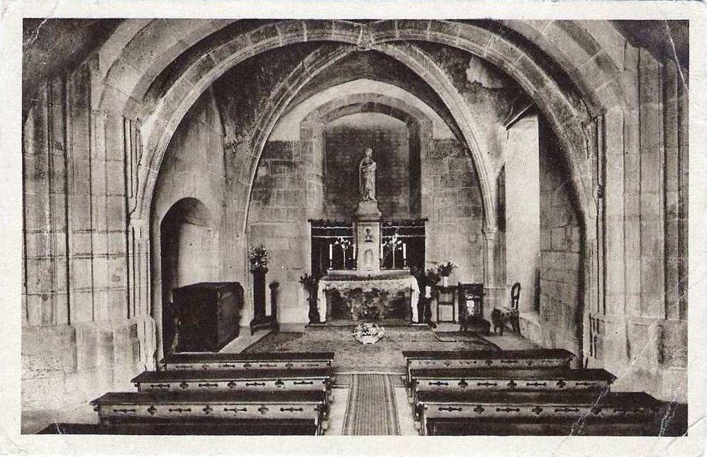 Ancienne chapelle latérale de l'ancienne cathédrale Saint-Nazaire, Intérieure de la chapelle, Cellier du chapitre - Place du terreau - 71400 Autun.