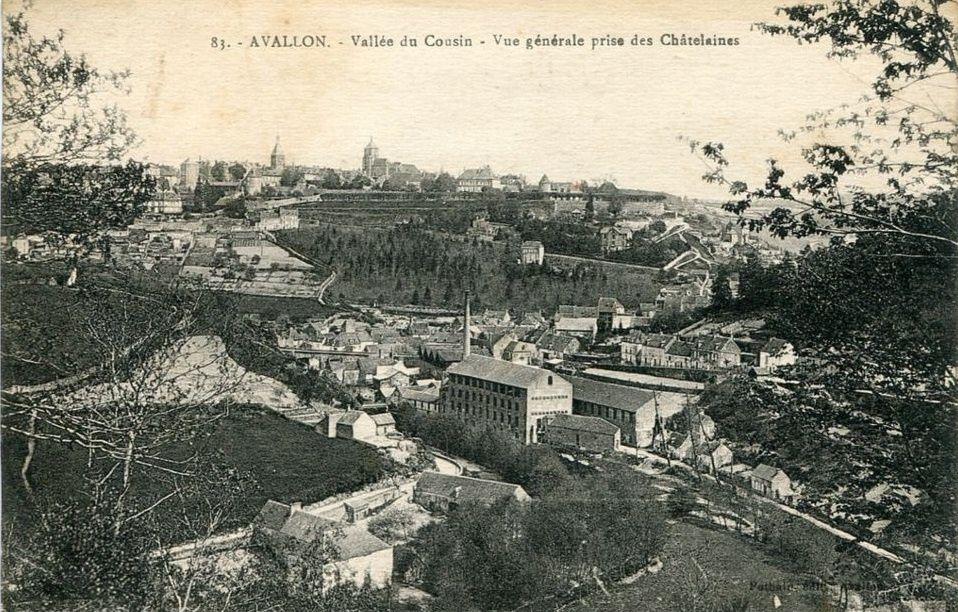 Avallon - Vue générale - Avallon.