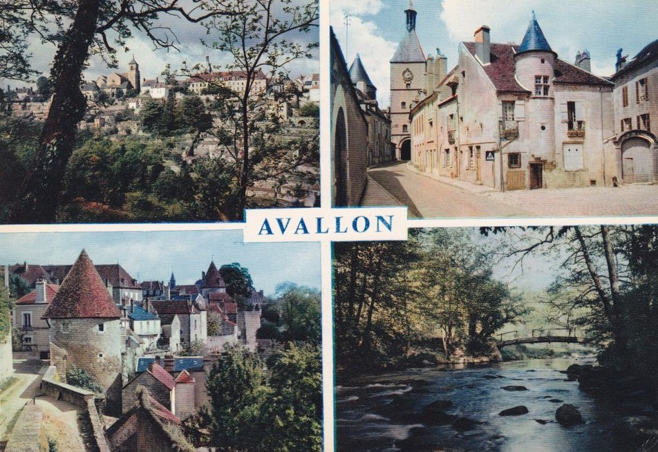 Avallon - Cartes multivue - Avallon