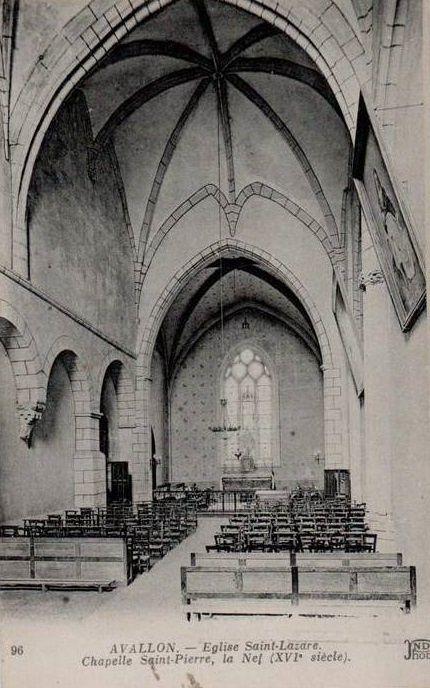Avallon - L'église Saint-Lazare, l'Abside, le Portail, le Portail Nord, la Nef, les Grandes Orgues, la Chapelle Saint-Pierre (XVIe siècle) - Avallon.