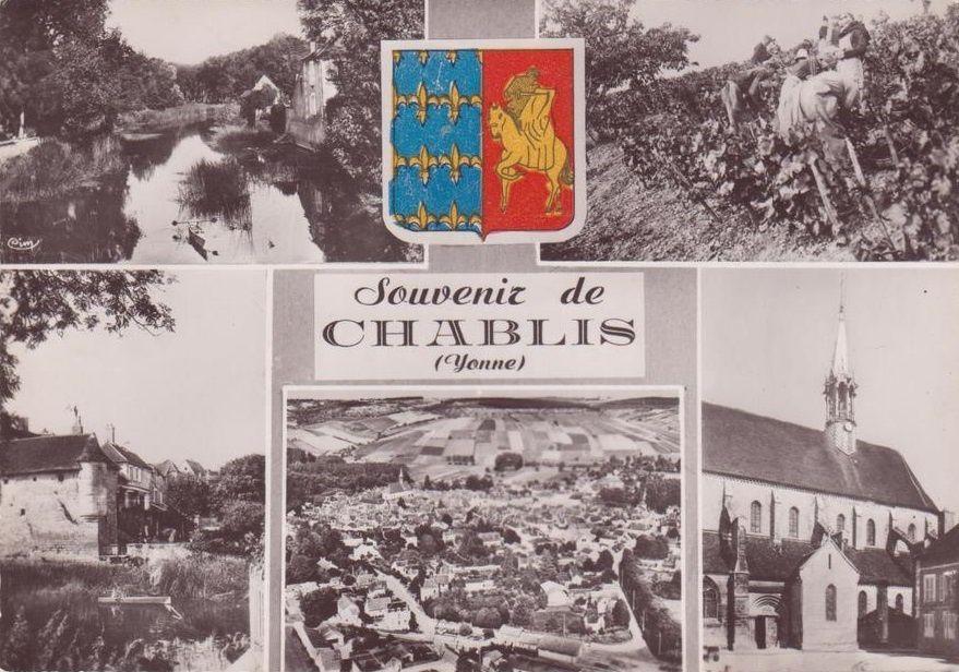 Chablis - Vue générale, Multivue - Chablis.