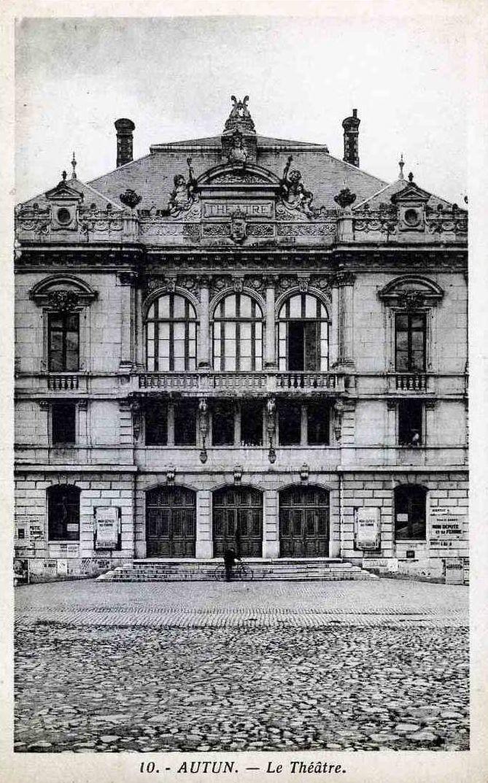 Théâtre municipal, Place du Champ de Mars - 71400 Autun.