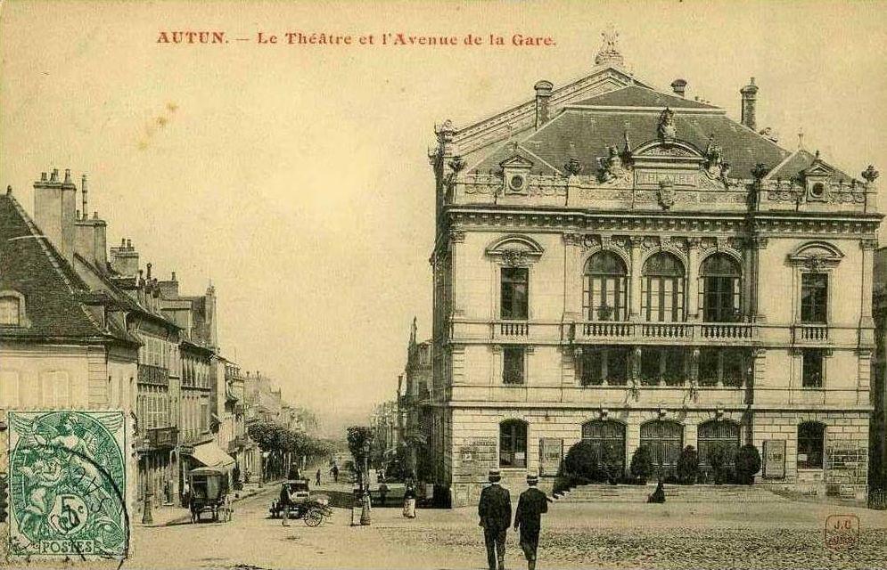 Théâtre municipal - Place du Champ de Mars - 71400 Autun.
