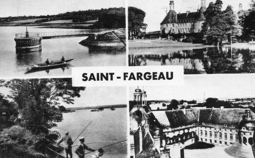 Saint-Fargeau - Cartes multivue - Saint-Fargeau.
