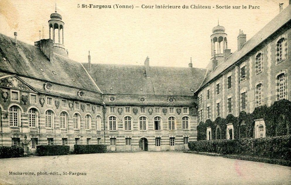 Saint-Fargeau - Le château - Saint-Fargeau