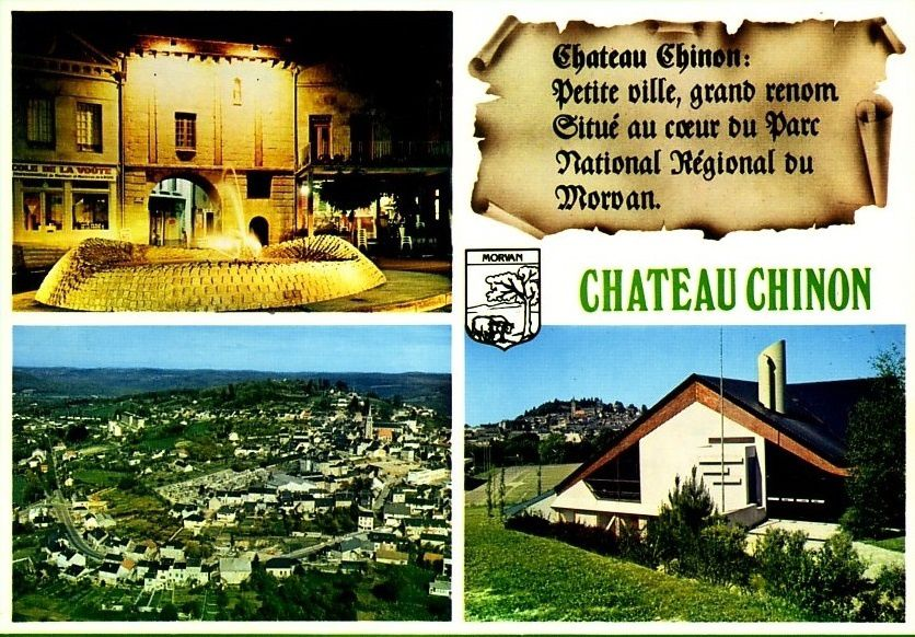 Château Chinon - Multivue - Château Chinon.