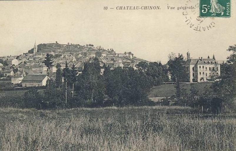 Château Chinon - Vue générale - Château Chinon.