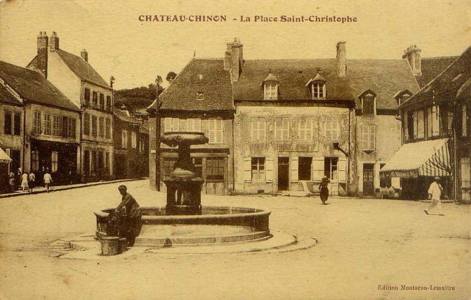 Château Chinon - Boulevard de la République, Place Saint-Christophe, Rue du Champlain - Château Chinon.