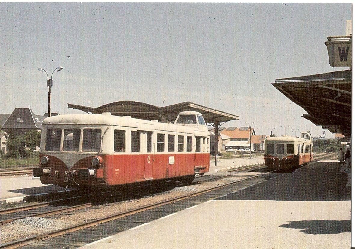 Gare SNCF - Avenue de la République - 71400 Autun.