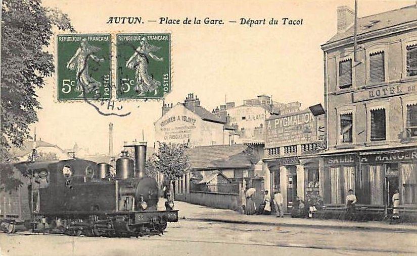 Gare - SNCF - Avenue de la République - 71400 Autun.