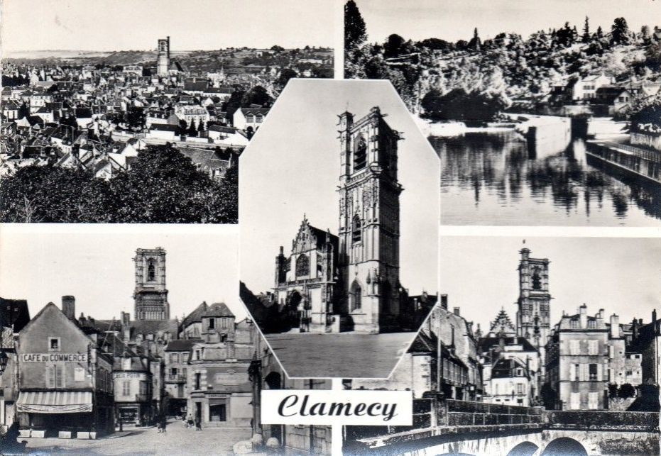 Clamecy - cartes multi-vues - Clamecy